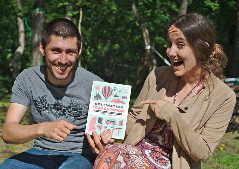 Fab et Beoint avec leur livre