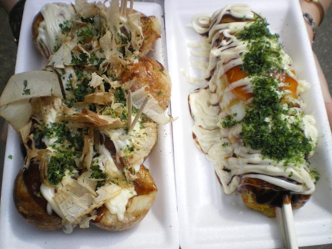 Street food japonaise