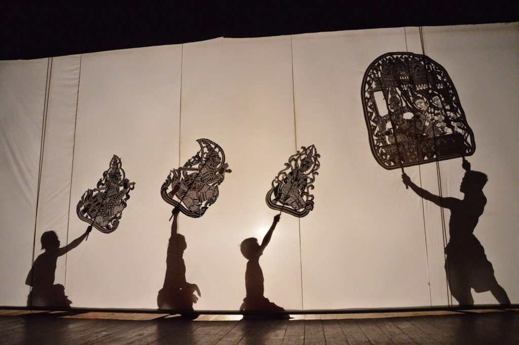 Le théatre d'ombres de Phnom Penh