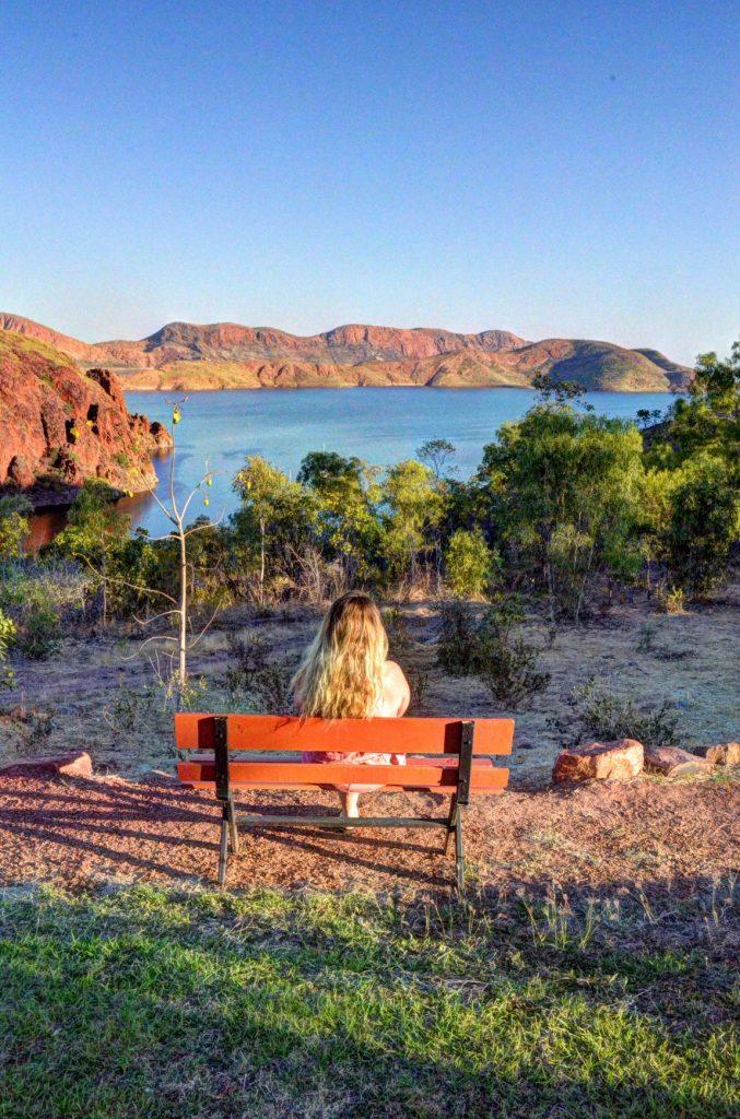 Vu sur le Lac Argyle en Australie