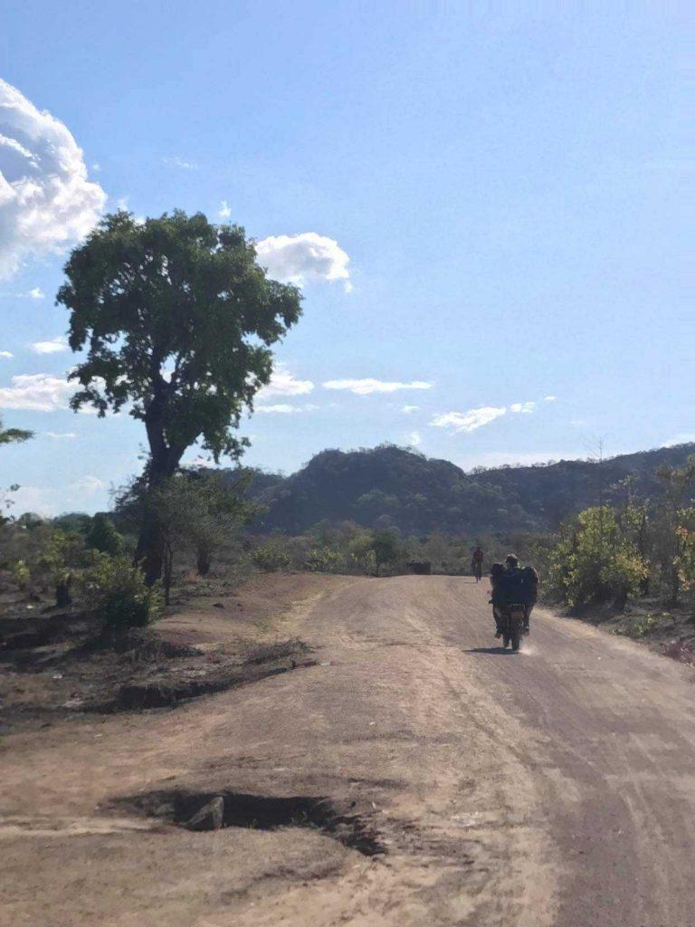 La moto au Malawi