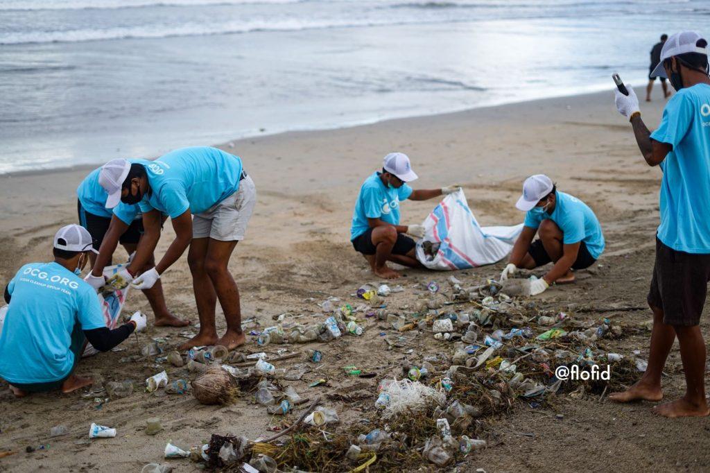 Pollution des océans à Bali