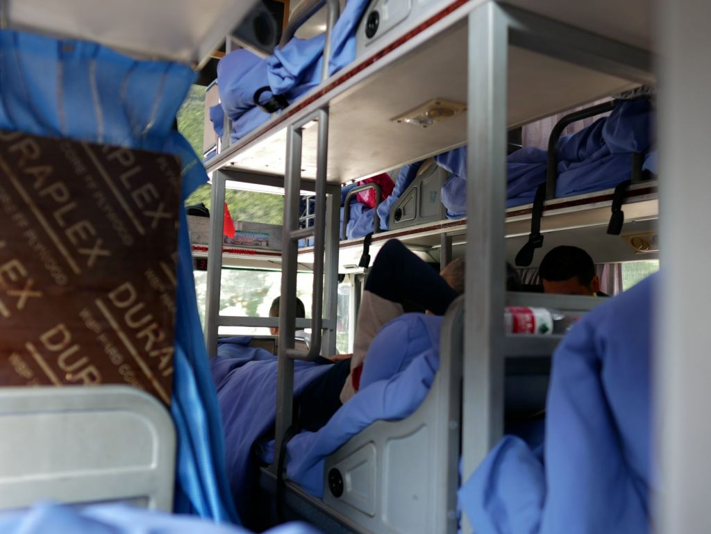 L'Asie sans avion et en bus