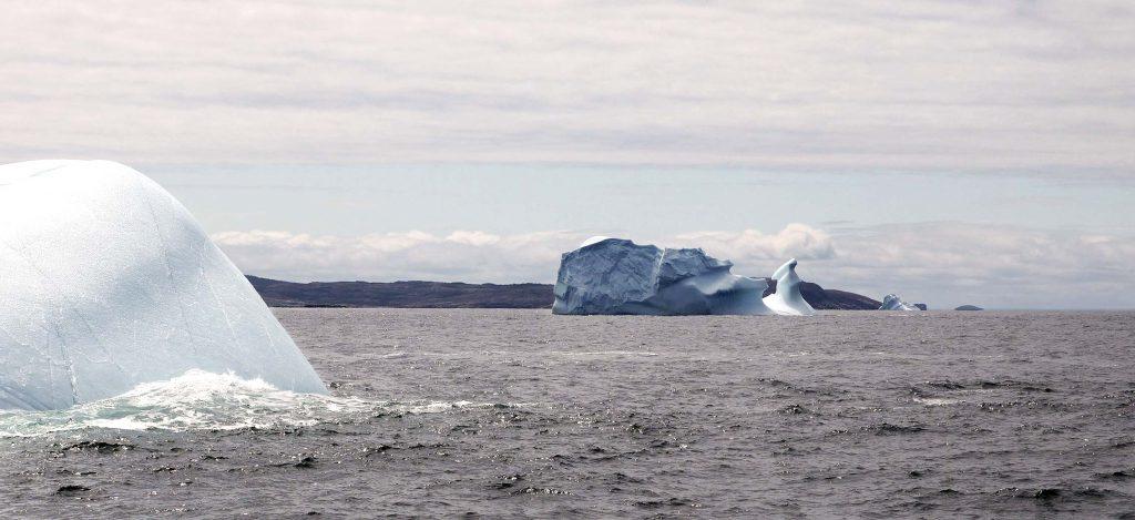 Les icebergs au Canada - expatriation