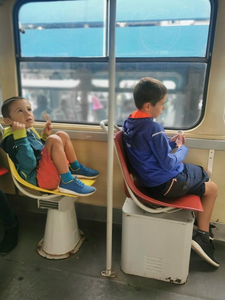 Voyager avec les enfants en bus