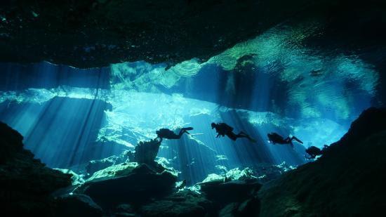 Cenotes au Mexique