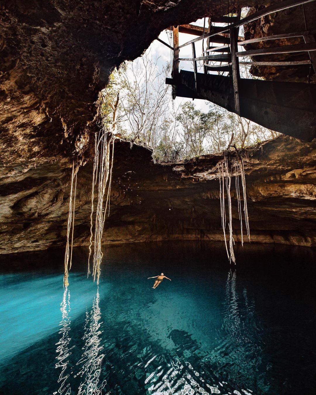 Les Cenotes lors d'un PVT Mexique