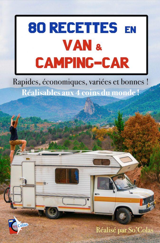 Livre pour mieux Cuisiner en camping-car
